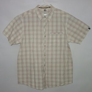 The North Face Button Down Shirt Men Short sleeve